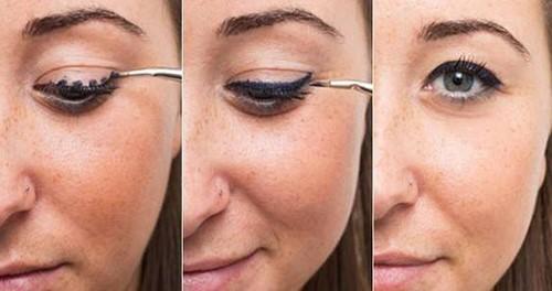 cách kẻ eyeliner