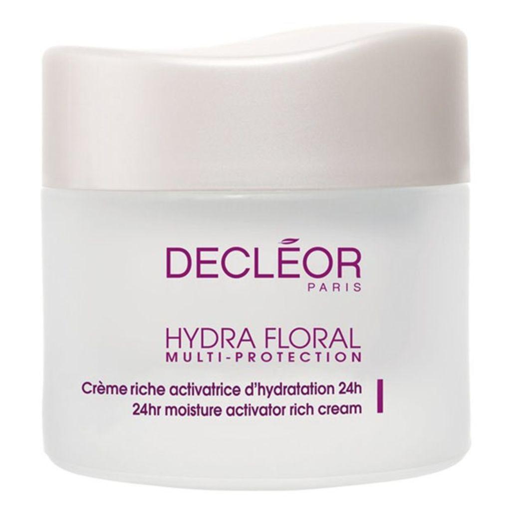 Decléor Hydra Floral 24 Hour Moisture Activator Rich Cream