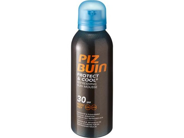 Piz Buin Protect and Cool Refreshing Sun Mousse SPF 30