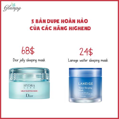 Diro jelly sleeping mask – Lainege water sleeping mask