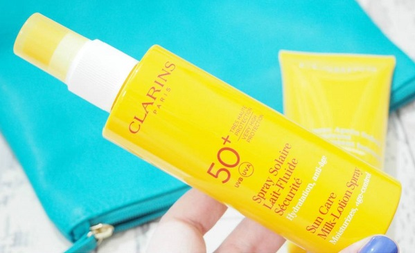 Clarins Sunscreen Care Milk-Lotion Spray SPF 50