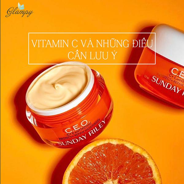 Serum Vitamin C theo góc nhìn chuyên gia